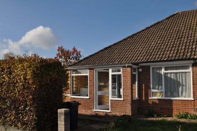 Thumbnail Semi-detached bungalow to rent in Walnut Close, Kennington, Ashford