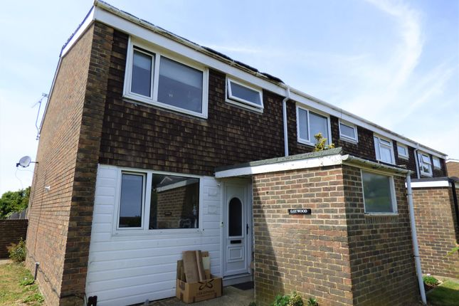 Thumbnail End terrace house to rent in Pentland Road, Worthing