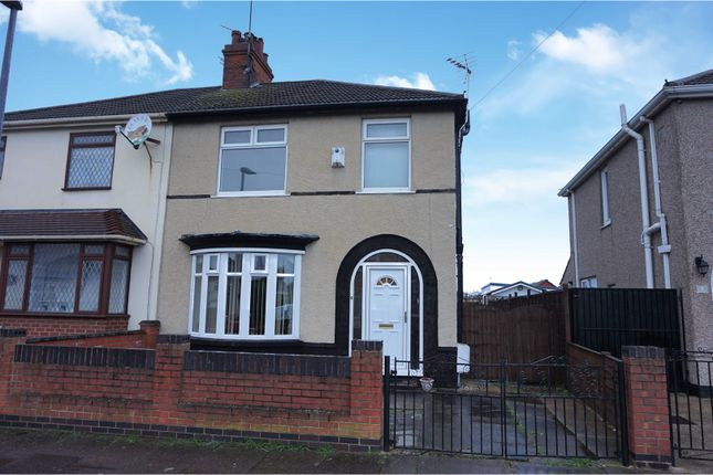 Thumbnail Semi-detached house for sale in Miller Avenue, Grimsby