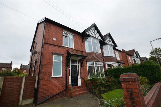 Thumbnail Semi-detached house to rent in Brantwood Road, Heaton Chapel, Stockport