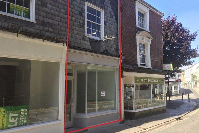 Thumbnail Retail premises for sale in 9, Duke Street, Truro