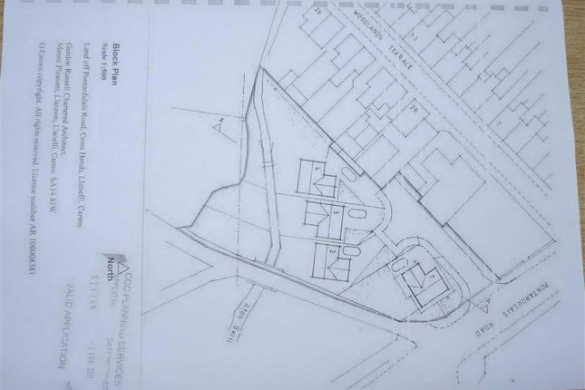Thumbnail Land for sale in Pontardulais Road, Cross Hands, Llanelli