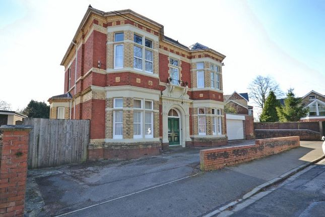Thumbnail Detached house for sale in Exceptionally Spacious Period House, Caerau Crescent, Newport