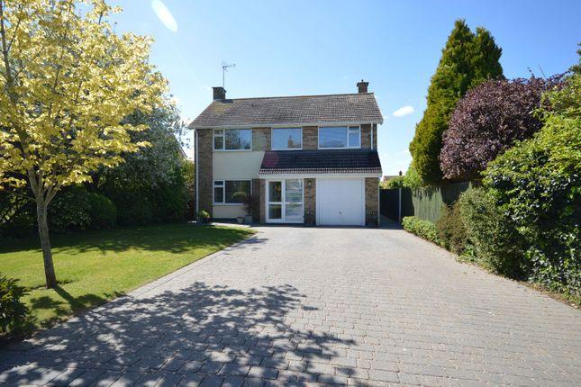 Thumbnail Detached house for sale in Fernie Dene, Great Glen, Leicester