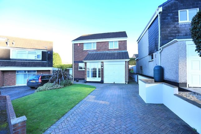 Thumbnail Detached house for sale in Greenlees Drive, Plympton, Plymouth