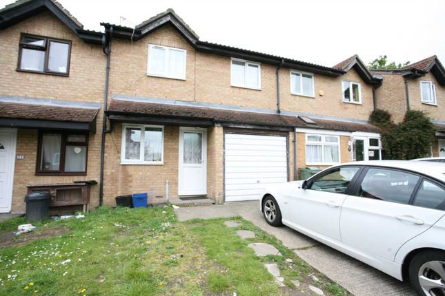Thumbnail Terraced house to rent in Express Drive, Goodmayes
