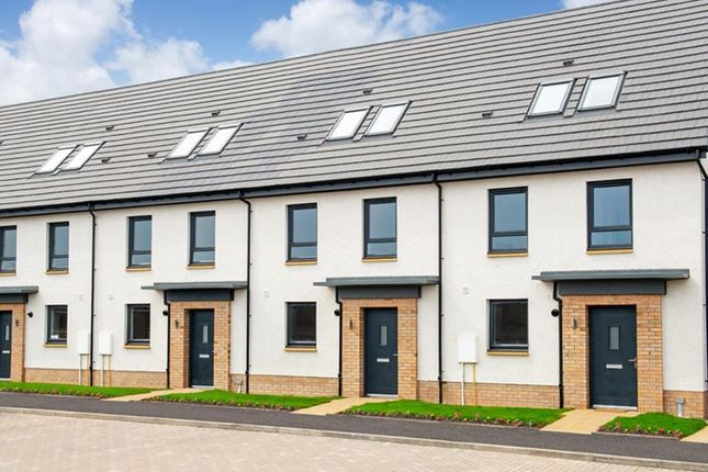 """Thumbnail 3 bed terraced house for sale in """"Newmachar"""" at Frogston Road East, Edinburgh"""