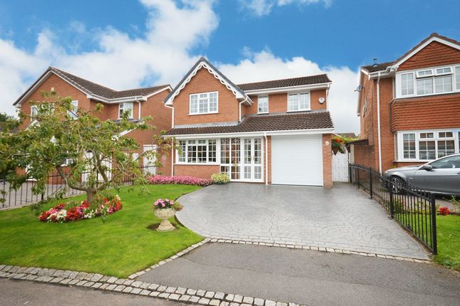 Thumbnail Detached house for sale in Longstone Close, Shirley, Solihull