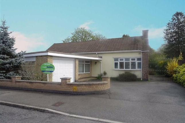 Thumbnail Detached bungalow for sale in Pine Tree Grove, Kirby Muxloe, Leicester