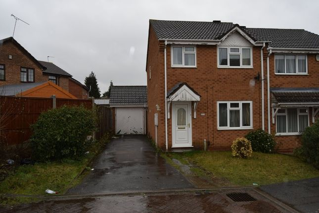 Thumbnail Semi-detached house to rent in Danbury Drive, Beaumont Leys, Leicester