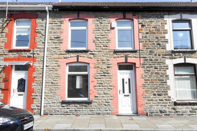 Thumbnail Terraced house for sale in William Street, Ynyshir