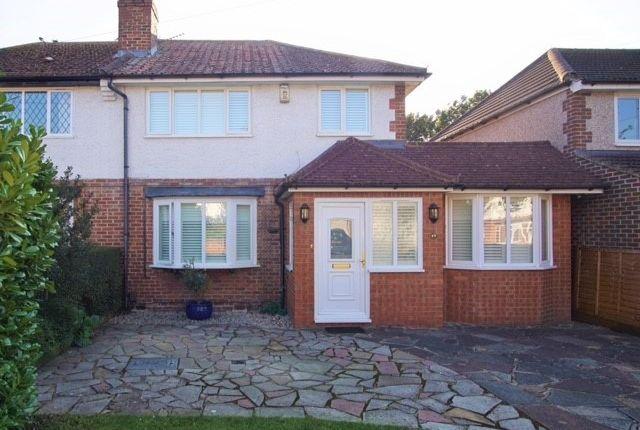 Thumbnail Semi-detached house for sale in Byron Road, South Croydon, Surrey