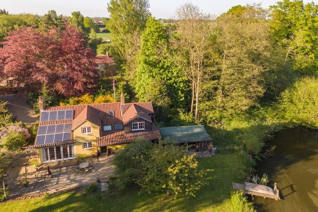 Thumbnail Detached house for sale in The Close, Watton Road, Stow Bedon, Attleborough