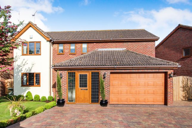Thumbnail Detached house for sale in Wellsfield, Rayleigh