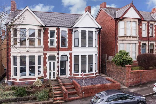 Thumbnail Semi-detached house for sale in Tynewydd Road, Barry, Vale Of Glamorgan