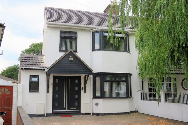 Thumbnail Semi-detached house for sale in Hugh Road, Smethwick