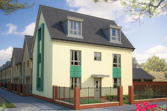 "Thumbnail Detached house for sale in ""The Edworth"" at Calverton Lane, Calverton, Milton Keynes"