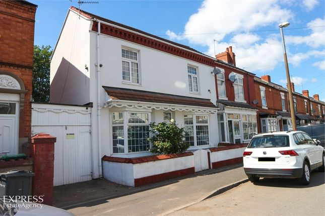 Thumbnail End terrace house for sale in Cheshire Road, Smethwick, West Midlands