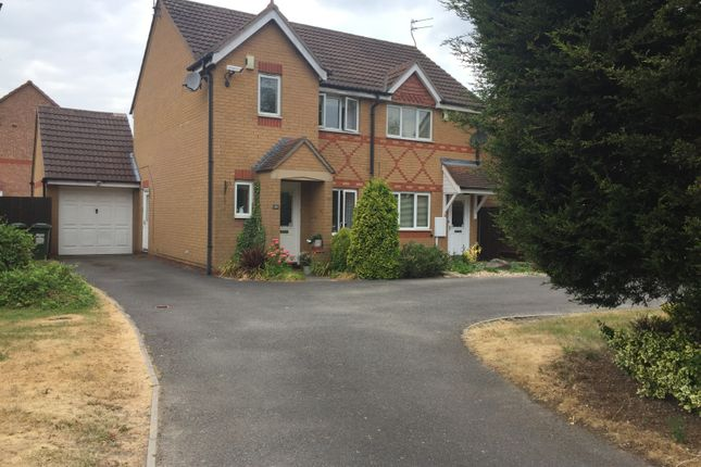 Thumbnail Semi-detached house to rent in The Littlefare, Thorpe Astley