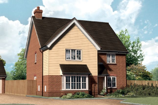 Thumbnail Detached house for sale in Stockett Lane, East Farleigh, Maidstone