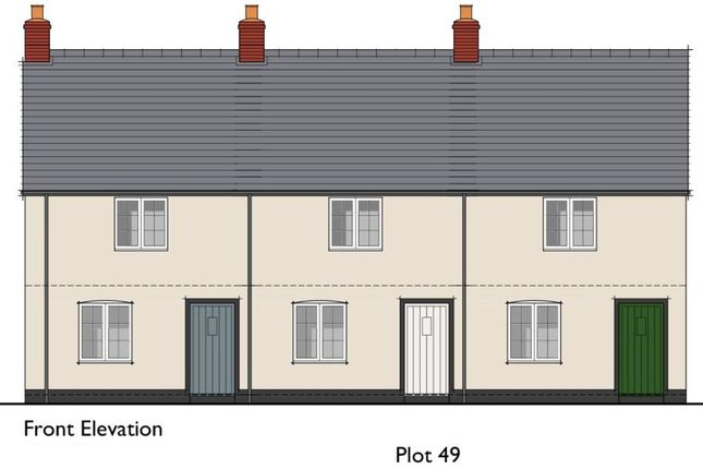 Thumbnail Terraced house for sale in Coward Road, Mere, Warminster