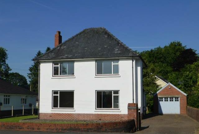 Thumbnail Detached house to rent in Station Road, Nantgaredig, Carmarthen
