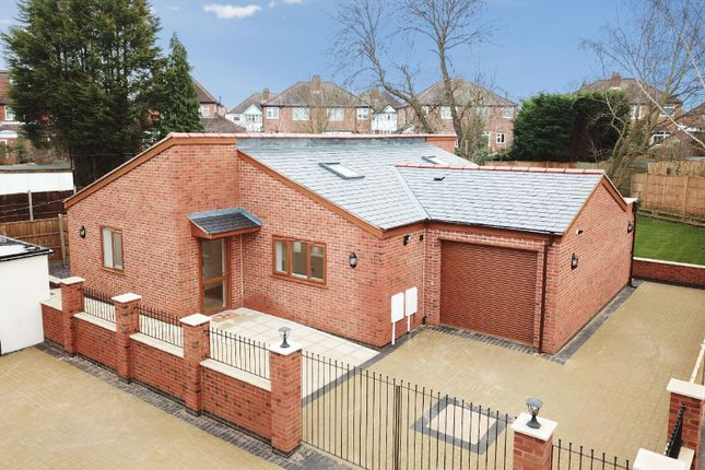 Thumbnail Bungalow for sale in Meadvale Road, Knighton, Leicester