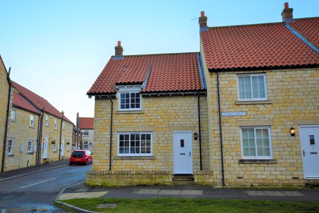 2 bed end terrace house to rent in Main Street, Seamer, Scarborough YO12