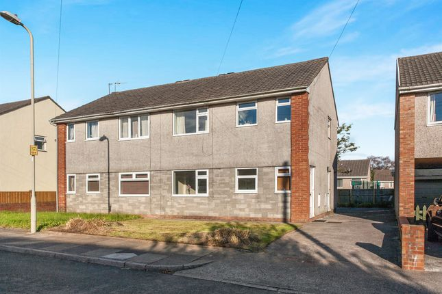 Thumbnail Flat for sale in Milton Close, Beddau, Pontypridd