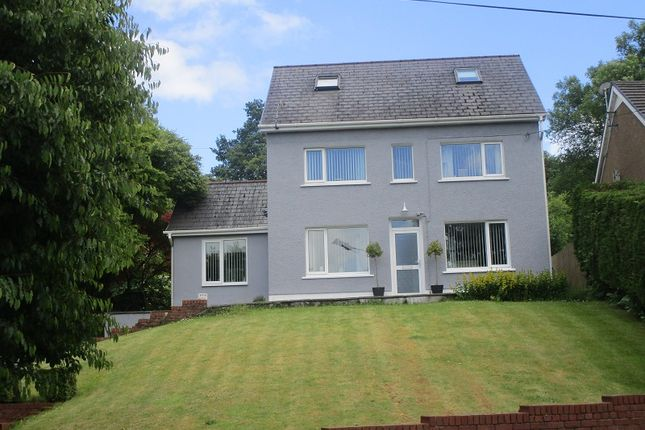 Thumbnail Detached house for sale in Caerbont, Abercrave, Swansea.