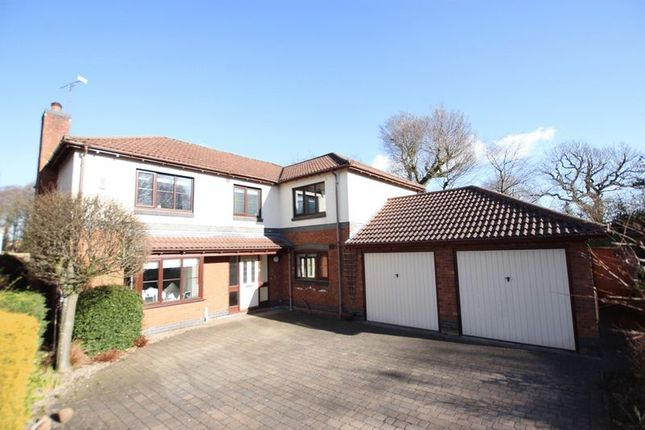 Thumbnail Detached house for sale in Appleby Grove, Bromborough, Wirral