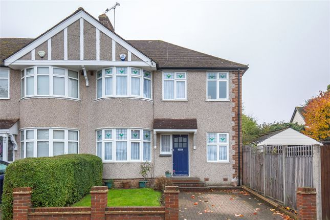 Thumbnail Semi-detached house for sale in Weirdale Avenue, Whetstone, London