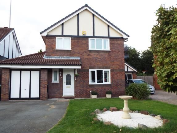 Thumbnail Detached house for sale in Steventon, Runcorn, Cheshire, England