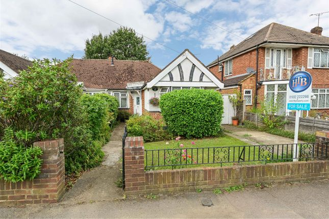 2 bed semi-detached bungalow for sale in Rydens Road, Walton On Thames, Surrey KT12
