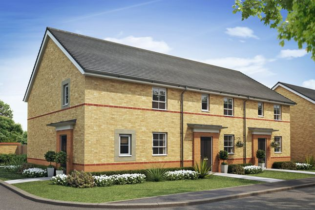 "Thumbnail Detached house for sale in ""Folkestone"" at Lightfoot Lane, Fulwood, Preston"