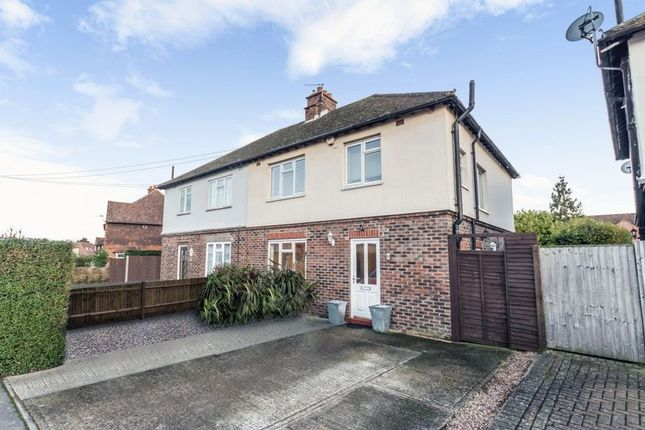 3 bed semi-detached house for sale in The Oval, Farncombe, Godalming
