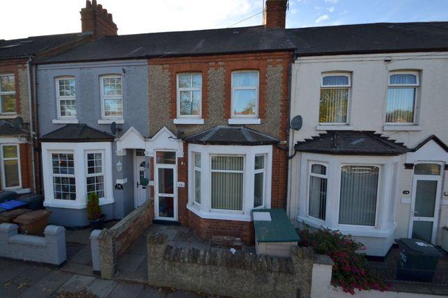 Thumbnail Terraced house for sale in Glan-Y-Mor Terrace, Kingsthorpe, Northampton