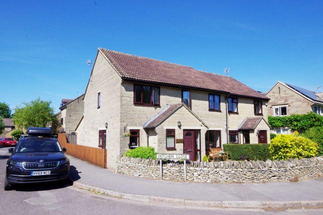 Thumbnail Semi-detached house for sale in Hitchen Close, Marshfield, Chippenham