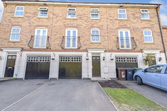 4 bed terraced house for sale in Fieldfare Close, Corby, Northamptonshire NN18
