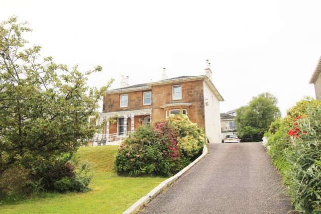 Thumbnail Semi-detached house for sale in Alexandra Parade, Dunoon