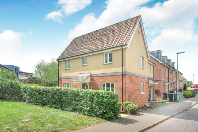 Thumbnail Semi-detached house for sale in Dr Torrens Way, Norwich