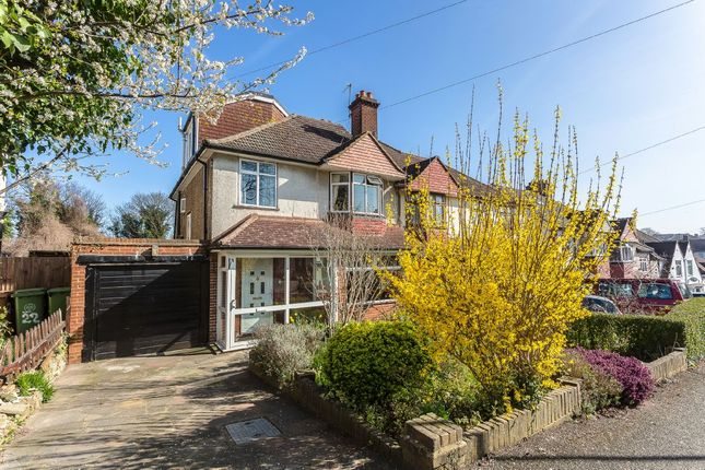 Thumbnail Semi-detached house for sale in Downside Road, South Sutton
