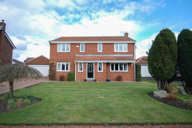 Thumbnail Detached house for sale in Cleadon Lea, Cleadon, Sunderland