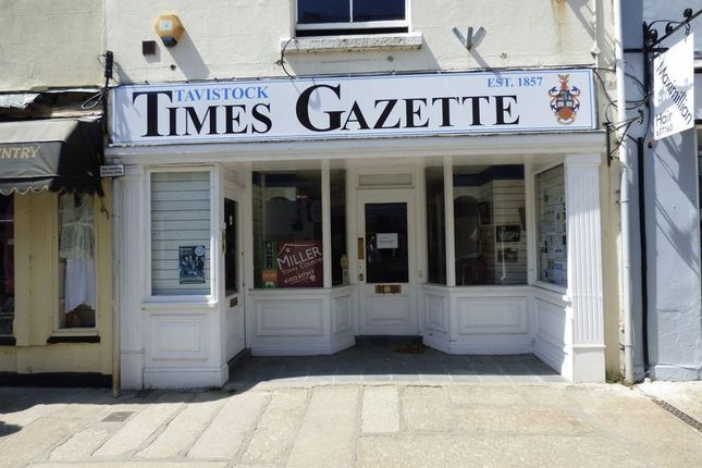 Commercial property for sale in Town Steps, West Street, Tavistock