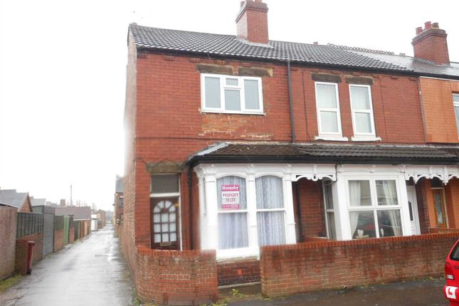 Thumbnail End terrace house to rent in King Edward Street, Scunthorpe