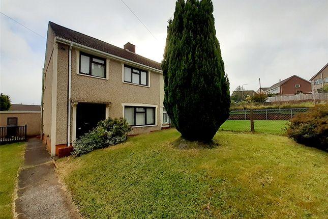 Thumbnail Semi-detached house for sale in Heol-Y-Twyn, Aberdare, Rhondda Cynon Taff