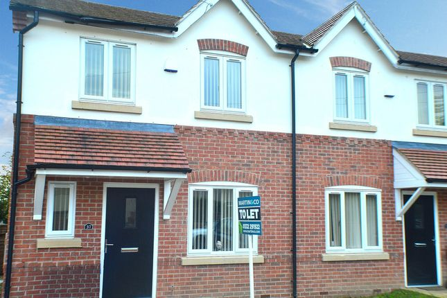 Thumbnail Semi-detached house to rent in Hornsea Road, Oakwood, Derby