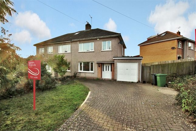 Thumbnail Semi-detached house for sale in Miterdale Close, Penylan, Cardiff