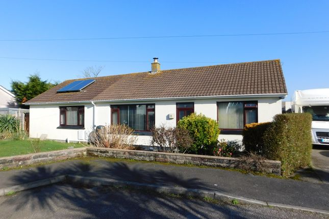 Thumbnail Detached bungalow for sale in Albertus Gardens, Hayle, Cornwall