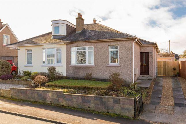 Thumbnail Semi-detached bungalow for sale in 7 Craigleith Hill Loan, Edinburgh